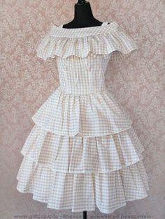 Resultado de imagem para детские платья многоярусные
