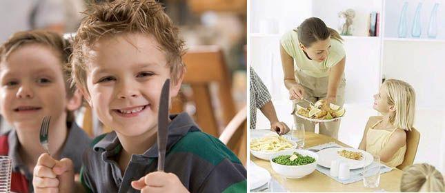 10 modales de la mesa basicos para ninos