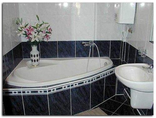 ванна меньше ванной комнаты