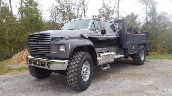 Look At This 1993 Ford F800 Truck For Sale Found On Secondlifetruck Website The Truck Is In Cincinnati Ohio And Cost Custom Trucks Ford Trucks Welding Trucks