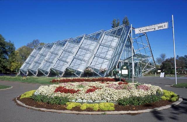 Glass House Ballarat Botanical Gardens