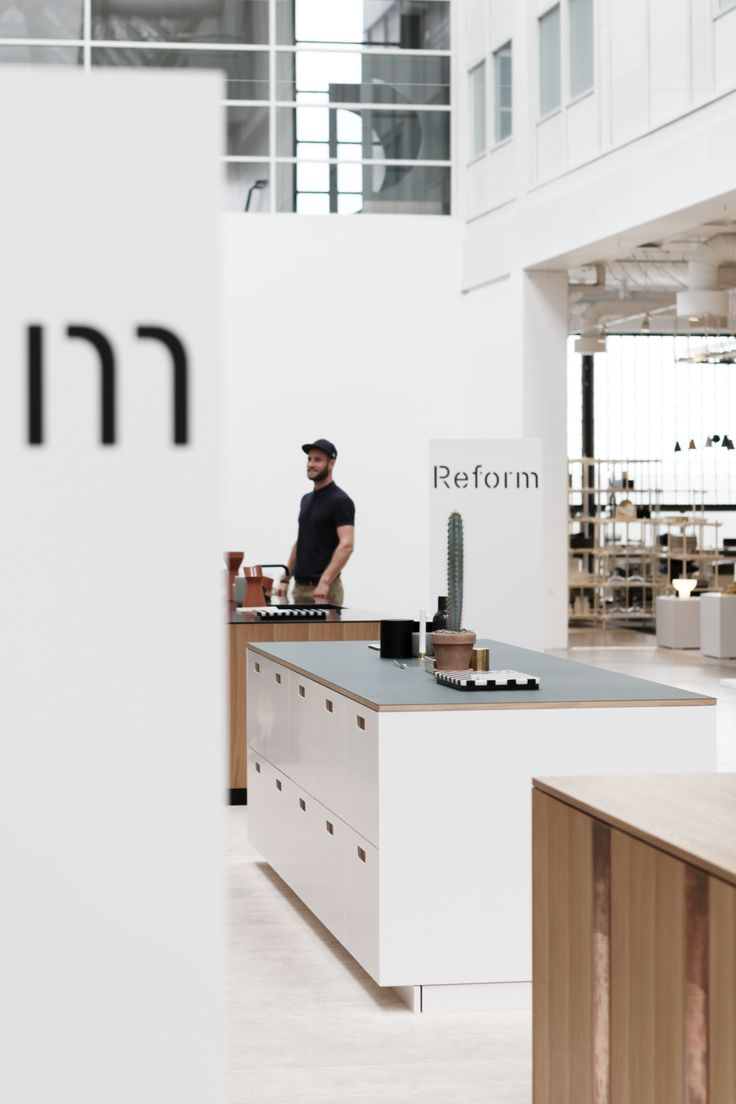 Reform's kitchens were shown for the first time in August 2015 at Scandinavia's…