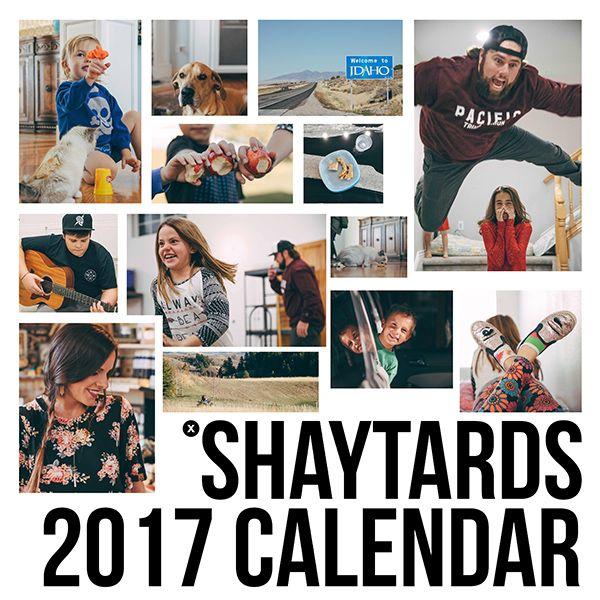 2017 SHAYTARDS CALENDAR