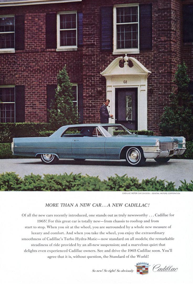 1965 cadillac ad 08 automobilecadillachtml