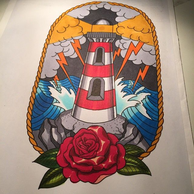 Never too late for lightning lighthouse #lighthouse #lighthousetattoodesign #storm #flash #tattoo #design#tattooartist #sydneytattoo #bonditattoo #phare #pharedesign #traditional #australie #tattooaustralie
