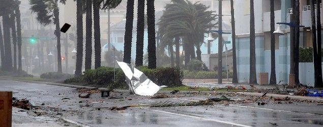 Hurricane Matthew slams Florida. (Reuters)