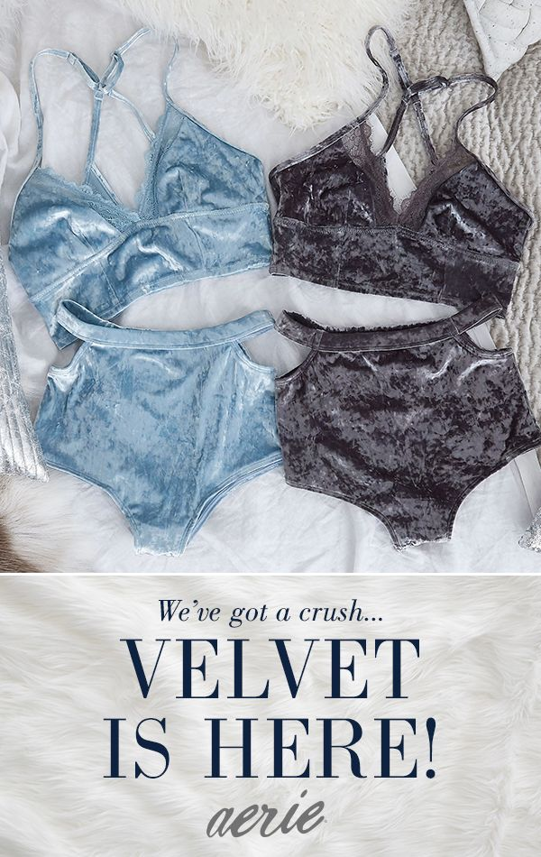 Shop the velvet trend in stores & at Aerie.com now.