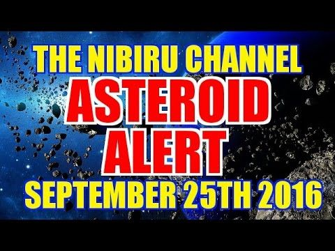 🔴 ASTEROID ALERT 🔴 SEPTEMBER 23rd to 25th 2016