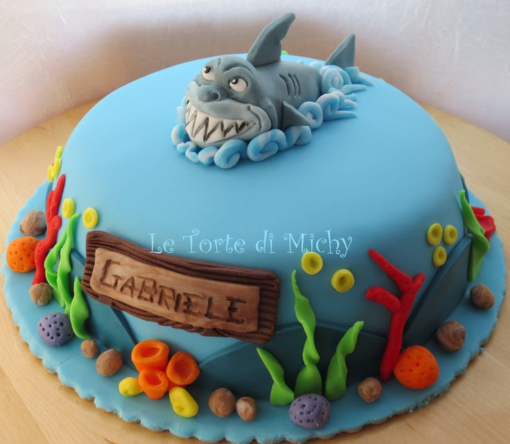 Cake Decorating Ideas Shark : 1000+ images about SHARK CAKES on Pinterest Birthdays ...