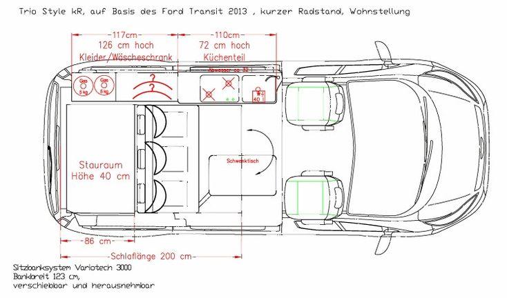 Kampeerblog: CAMPER: de Reimo Ford Transit Custom Triostyle