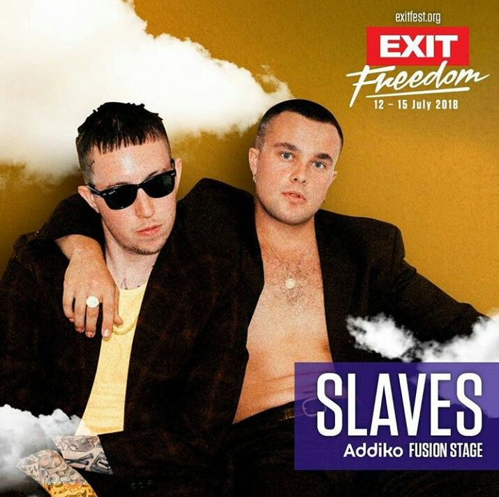 English punk rock band Slaves will play Exit Festival 2018