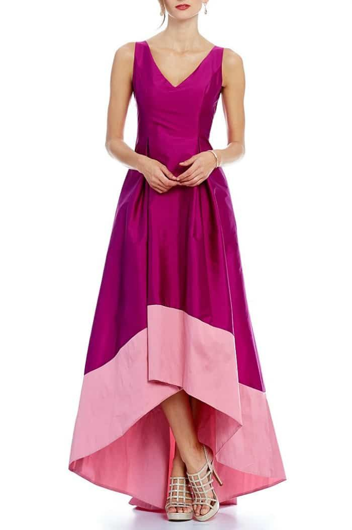 Rasberyy Pink Mother of the Bride Dress