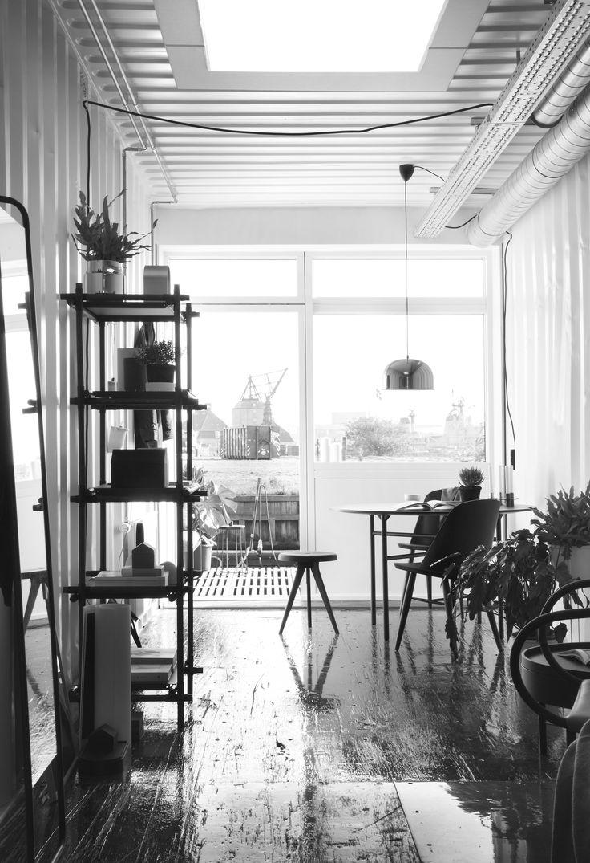 MENU, Stick System, Flip Around Chair, Synnes Chair, Kaschkasch Floor Mirror, GM Pendant