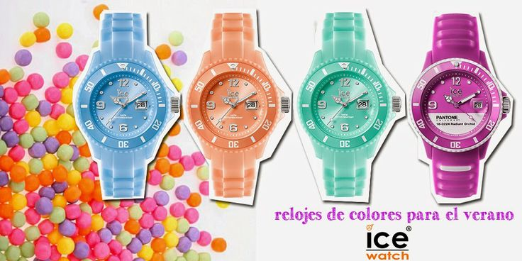 Relojes Ice Watch, relojes de colores, colorful watches, peach watch, pantone watch, radiant orchid,