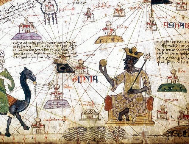 King Mansa Musa's astounding wealth came from his country Mali's production of more than half the world's gold and salt, Celebrity Net Wor...