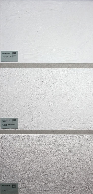 Ein Optischer Vergleich Von Sumpfkalkfarbe Und Kalkputz · Wandputz InnenKalkputzWandfarben  IdeenBadezimmerHaus