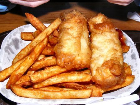 Beer Battered Halibut. If you haven't had this, you don't know what you're missing!