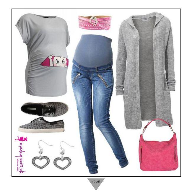 Tehotenská móda - Modny-svet.sk