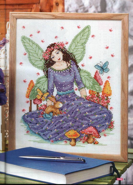 Spring Fairy - 1/3 PUNTADITAS (pág. 92) | Aprender manualidades es facilisimo.com
