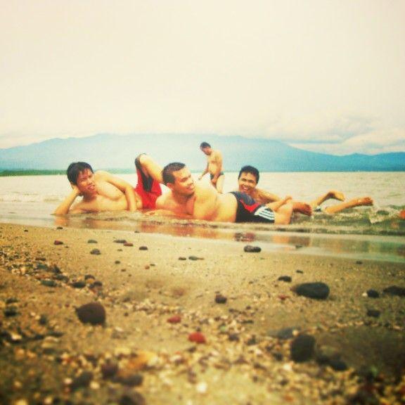 Saumil Beach at. Tanggamus Lampung.  With LINKTravel Wisata.