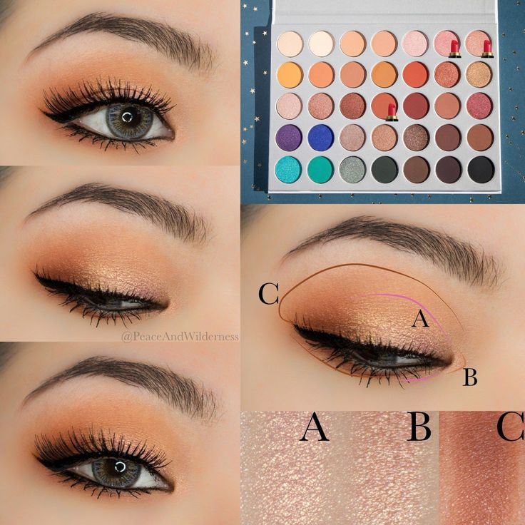 ⋆ MORPHE X JACLYN HILL EYESHADOW PALETTE ⋆ REVIEW & SWATCHES – Peace & Wilderness