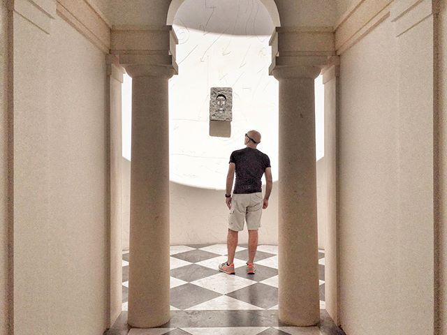 WEBSTA @ emanumela - Hans Kollhoff - Mimmo Paladino. #milano #triennale
