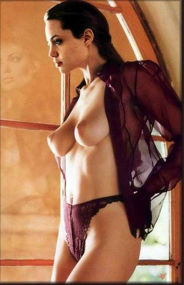 Angelina jolie true nude picures #11