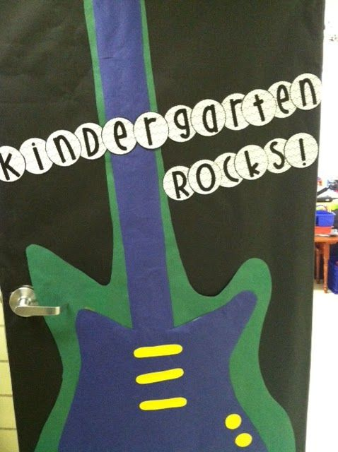 1000 images about rock and roll theme on pinterest for Idea door primary