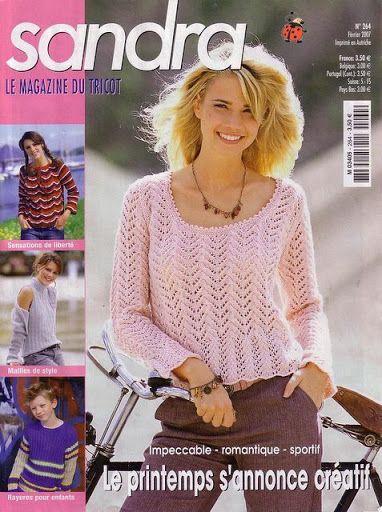 Sandra_le_magazine_du_tricot_264_2007 - Ewa P - Picasa Webalbumok