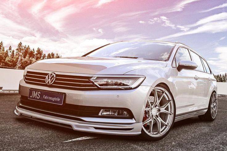 2015 Volkswagen Passat Variant от ателье JMS #KW #Volkswagen_Passat #Volkswagen #tuning #JMS #2015MY #mid_size_car #Volkswagen_Passat_Variant #german_auto_brands #Serial