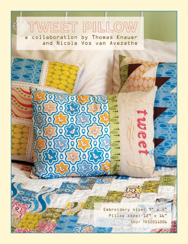 Tweet Embroidery and Pillow Pattern. Handmade IdeasPillow PatternsPillow Talk