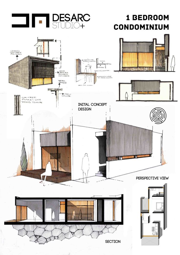 46 best images about wall detail section on pinterest - Condominium interior design concept ...