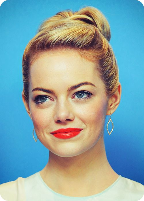Emma stone is beautiful both inside and out. She is also such a gifted actress, wouldn't be surprised if she becomes a Hollywood legend someday.
