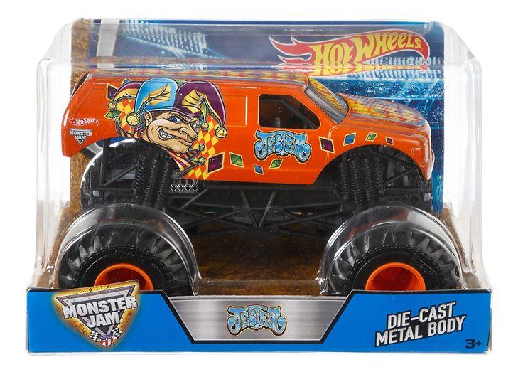 Monster Trucks For Sale >> Amazon.com: Hot Wheels Monster Jam Jester Truck: Toys ...