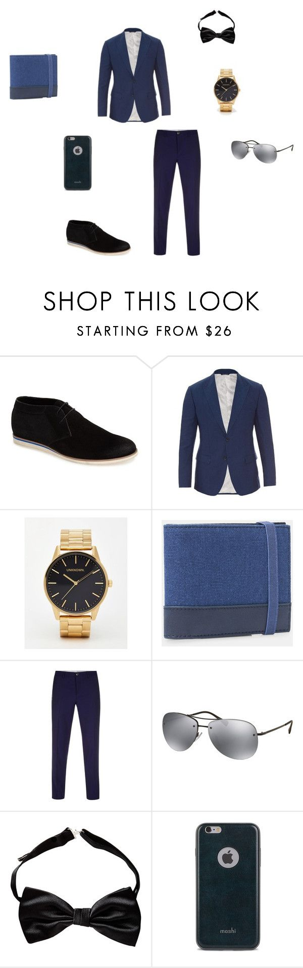 """Birou"" by neculaescu-alexia on Polyvore featuring Joe's, Dolce&Gabbana, MANGO MAN, Paul Smith, Prada, Moshi, mens, men, men's wear and mens wear"