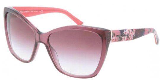 HONEY Lady Vintage Baroque Floral Lunettes de soleil - Summer Glasses - Stereo Rose (Couleur : Jelly pink) SE5ibK