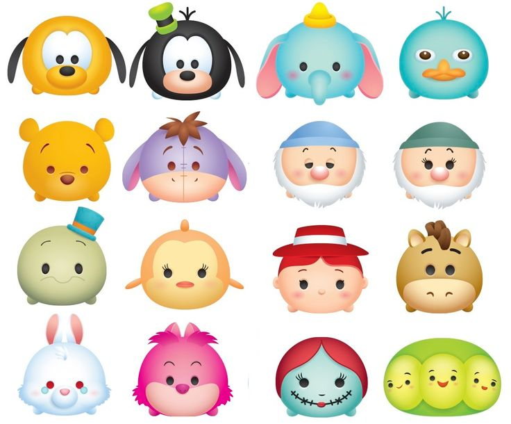 This is a photo of Amazing Tsum Tsum Characters Names