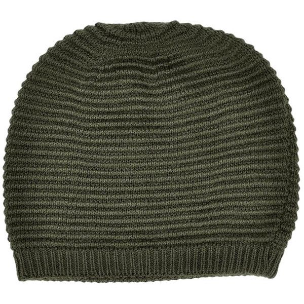 Women's Retro Oversized Slouchy Winter Knit Women Beanie Hat ($8.99) ❤ liked on Polyvore featuring tops, olive, knit top, olive green top, oversized tops, slouchy tops and retro tops