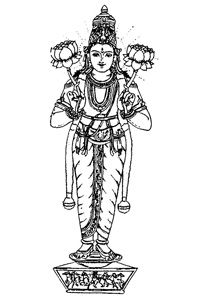 Surya: God of the sun and lord of the southwest.
