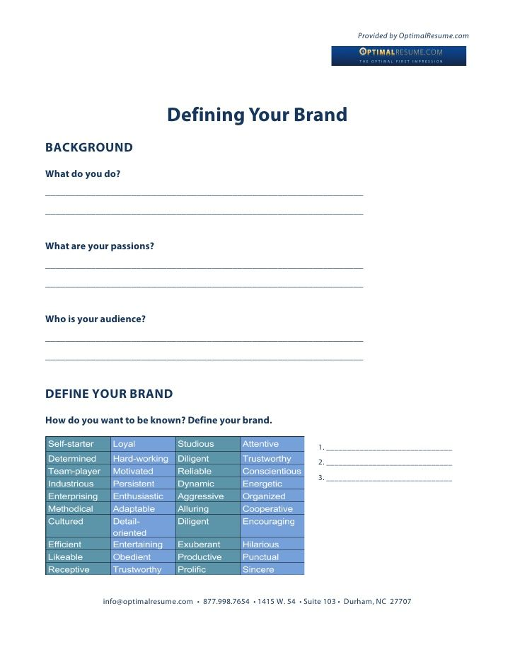 14 best Personal Branding images on Pinterest Personal branding - optimal resume