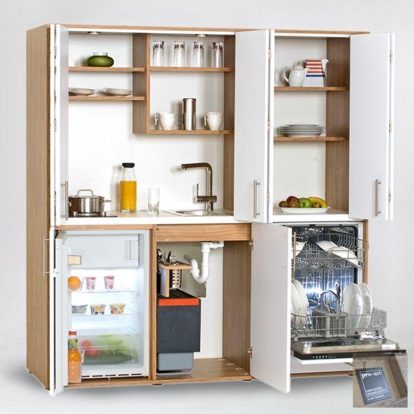 Schrankküche | Büroküche designLINE - Vielfalt auf kleinstem Raum...