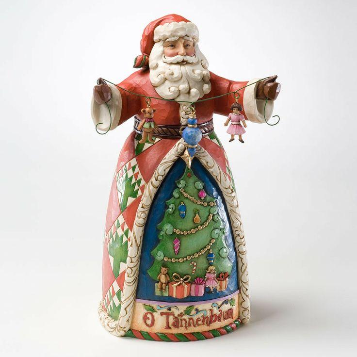 Best jim shore santa figurines images on pinterest
