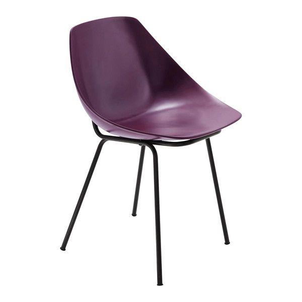 Chaise violette Guariche - Coquillage