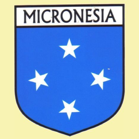 For Everything Genealogy - Micronesia Flag Country Flag Micronesia Decals Stickers Set of 3, $15.00 (http://www.foreverythinggenealogy.com.au/micronesia-flag-country-flag-micronesia-decals-stickers-set-of-3/)