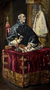 Capilla Mayor del Hospital de la Caridad de Illescas . San Ildefonso