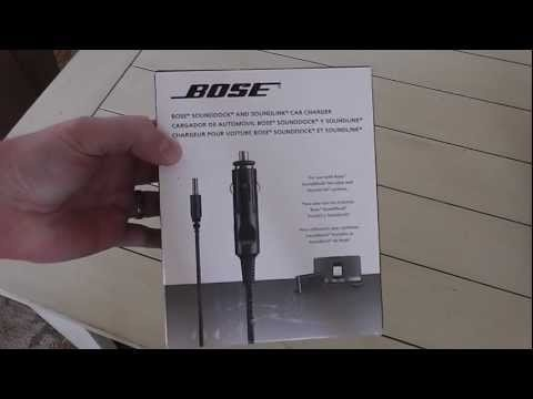 Bose Soundlink Car Charger Review.  This product is a must for every Bose Soundlink owner!  It provides mobile charging capabilities while in a car, boat, etc!  Like all Bose products, this Bose accessory is very well-made!  I love Bose and their audio products are the clearest and most room-filling sound experience on the market today!  Please share this video with others.  Filmed with Panasonic HC-V100M camera in 1080P HD.  Thanks for watching!