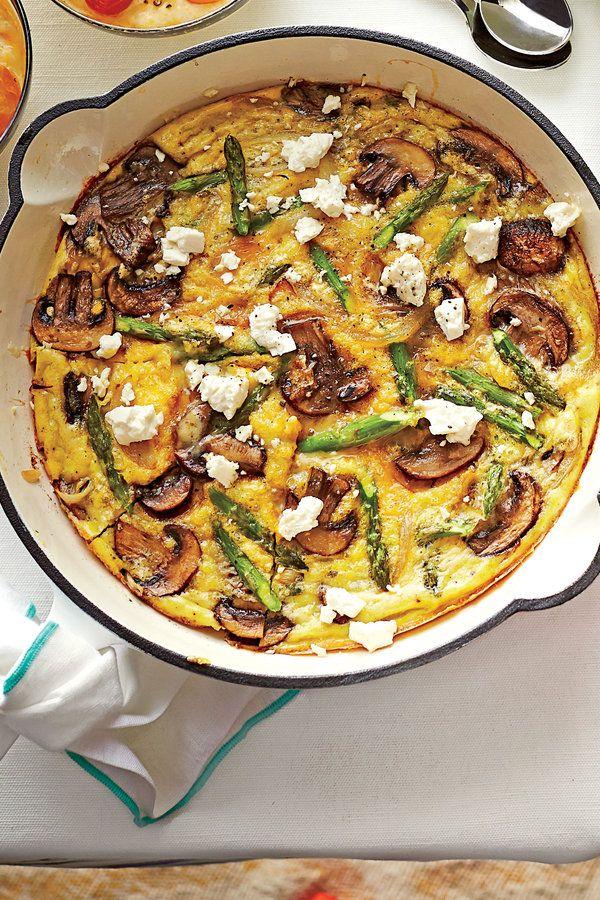 Dinner Recipes: Spring Vegetable Frittata