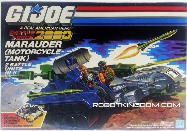 battle force 2000 vehicle marauders, misb, c8 box #transformer