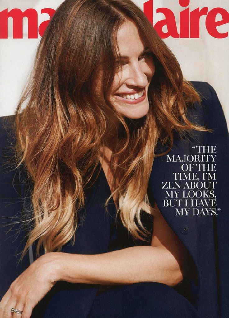 Julia Roberts Appears in the December 2013 Cover Story of Marie Claire