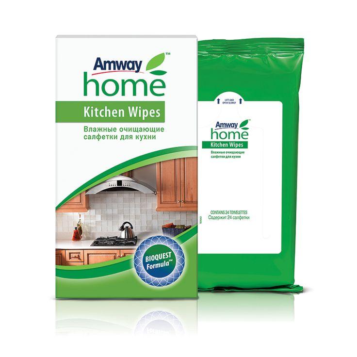 Бизнес с нуля или путь к финансовому успеху : Набор 2=3 Amway Home™ Влажные очищающие салфетки д...
